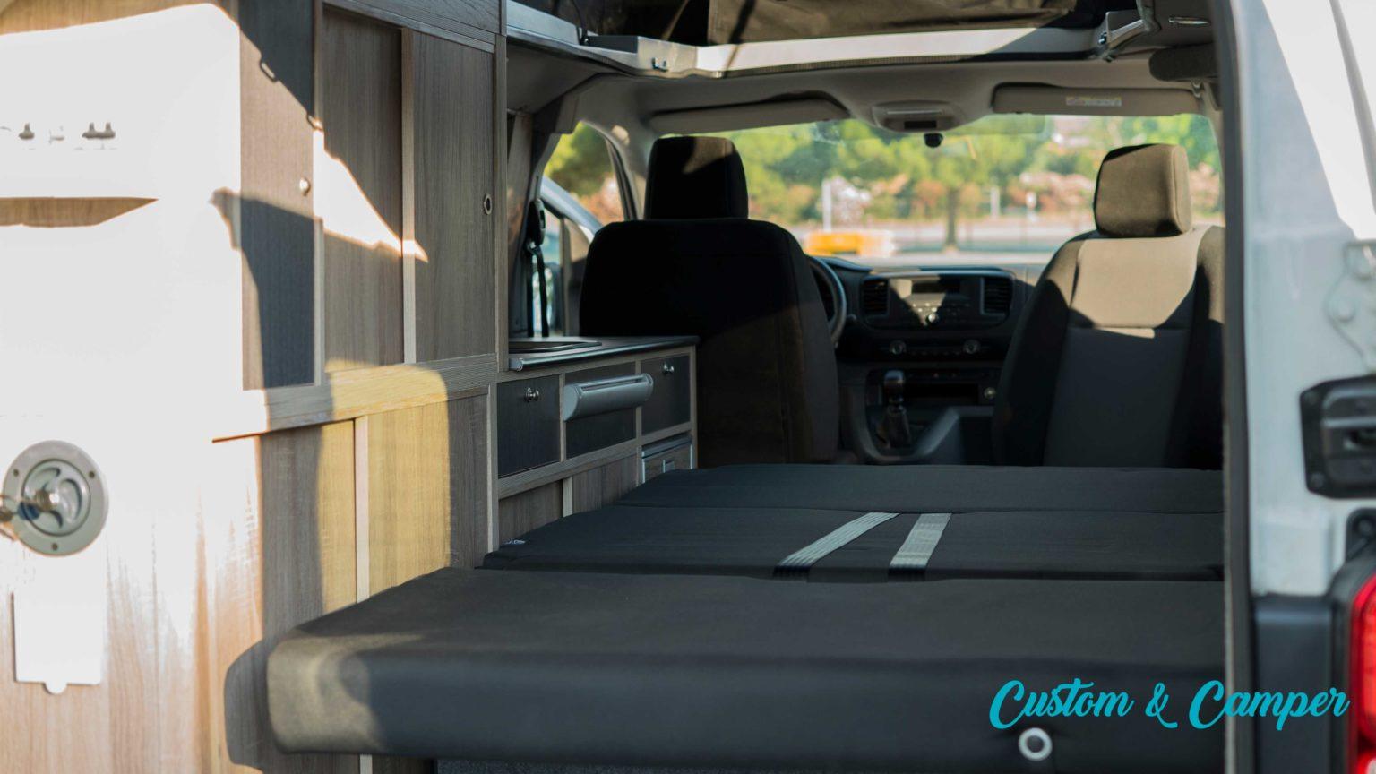 Citroen Jumpy camperización furgonetas Madrid