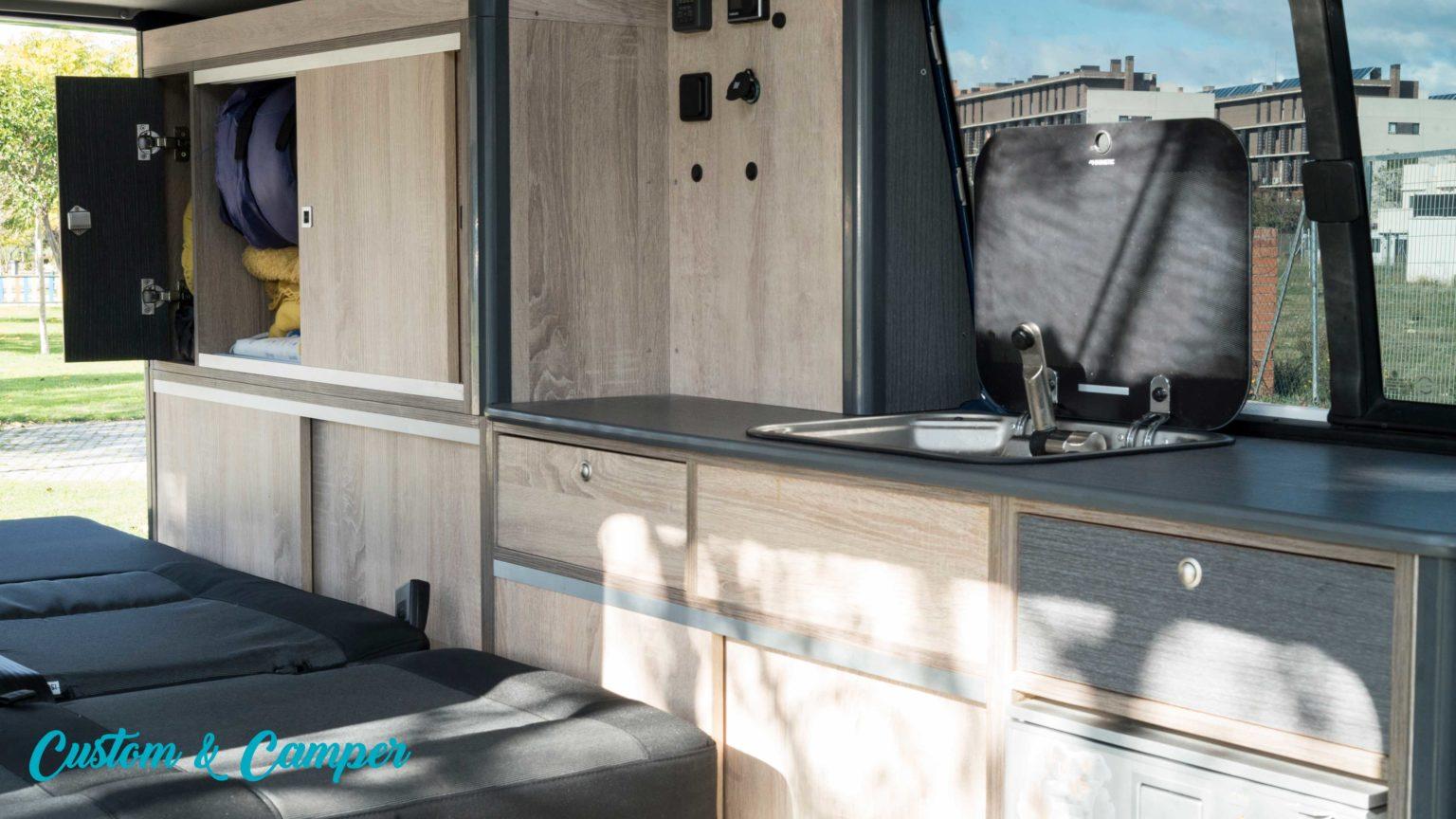 camperización furgonetas Madrid